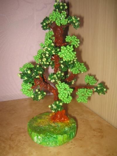"""Продам дерево  """"Банзай """" из бисера в Новокузнецке."""